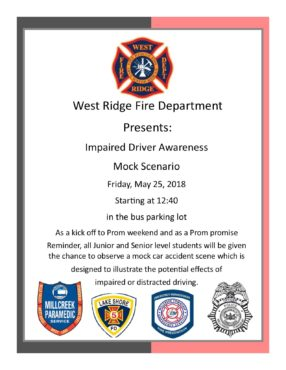 Impaired Driving Flyer 2018